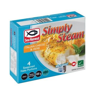 Sea Harvest Simply Steam Italian Cheese And Herb 400g