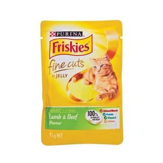 Friskies Turkey Liver Fine Cuts Cat F ood 85g