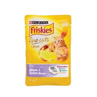 Friskies Fine Cut Salmon And Chicken 85g