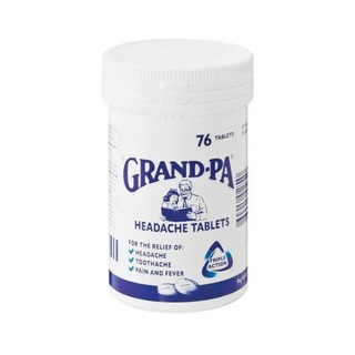 Grand-pa Headache Tablets 76ea