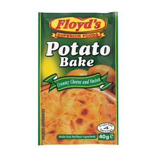 Floyd's Cheese & Onion Potat o Bake 40g