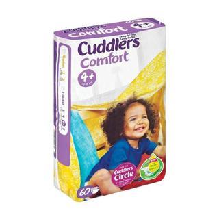 Cuddlers Comfort Size 4+ 60ea