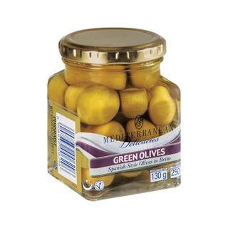 Mediterranean Green Olives 2 50 GR