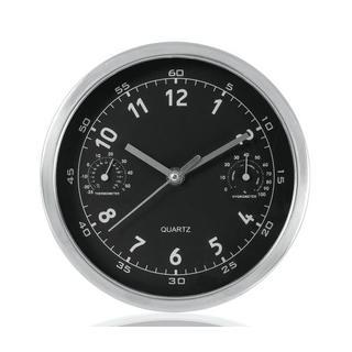 Century 8inch Chrome Wall Clock 1ea