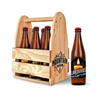 Mountain Brew Co Loadshed Lager  6 x 440 ml