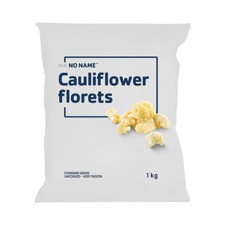 No Name Frozen Cauliflower 1kg