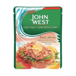 John West Tuna Pouches With Tomato 85g