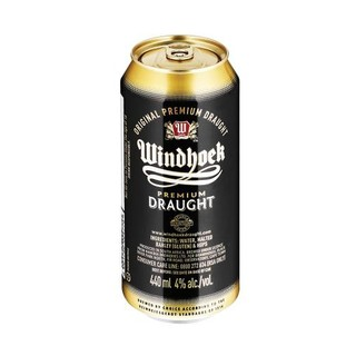 Windhoek Draught Can 440 Ml