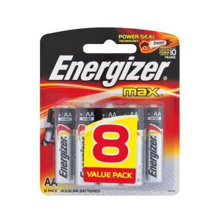 Energizer Max AA Batteries 8 Pk 8