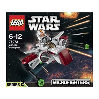 Lego Star Wars Arc 170 Starfighter  (75072)