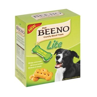 Beeno Crunchy Biscuit Treats L ow Fat 500g