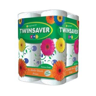 Twinsaver Summer Fruit Kitchen Towel 4ea