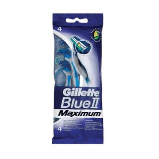 Gillette Blue Ii Max Regular 4ea