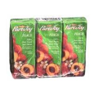 Parmalat Pure Joy Peach Juice 200ml x 3