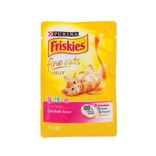Friskies Chicken In Jelly For Kittens 85 g