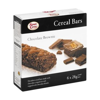 Simply Cereal Brownie Bar 6ea