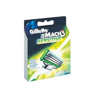 Gillette Mach 3 Sensitive Cartridges 8s
