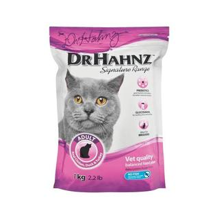 Dr Hahnz Adult  Cat Food Signature Ra nge Real Chicken Duck and Turkey 1kg