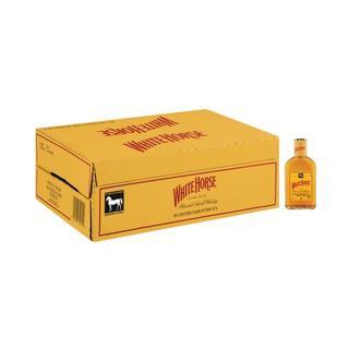 White Horse Scotch Whisky 200 ml x 12