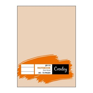 Croxley 72 Page Note Book