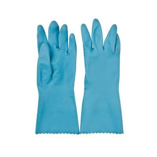 PnP Silver Lined Rubber Gloves Large 1ea