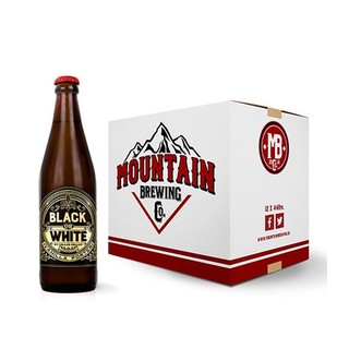Mountain Brew Co Black or White Vanilla  Porter  12 x 440 ml