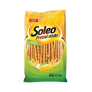 Soleo Pretzel Sticks Cheese 60g