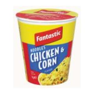 Fantastic Chicken And Corn Cup Noodles 7 0g