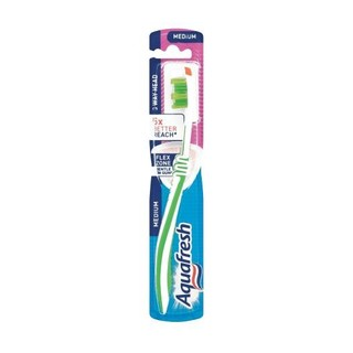 Aquafresh Three Way Clean Medium Toothbrush