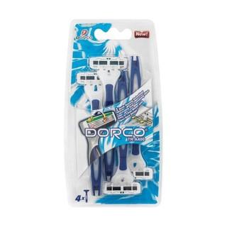 Dorco Men 3 Blade Disposable 4ea