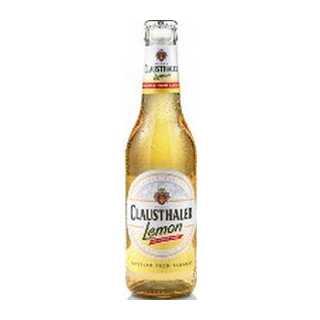 Clausthaler Beer Shandy Lemon Non Alc 330ml