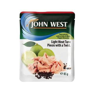 John West Tuna Pouches With Black Pepper 85g