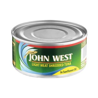 John West Shredded Tuna In Oil 170g x 6