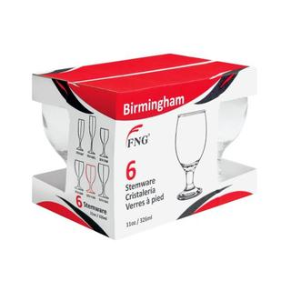 Fng Water Goblet Glass Set 6ea