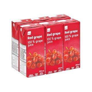 Pnp Red Grape Juice 200ml x 6