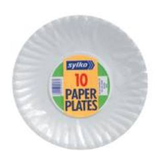 Sylko Paper Plates 180mm 10