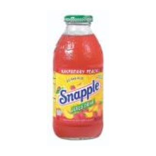 Snapple Raspberry And Peach Fruit Drink 473ml