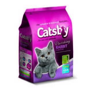 Catsby Adult Cat Food Rabbit 1.8kg