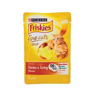 Friskies Chicken And Turkey F ine Cuts Cat Food 85g