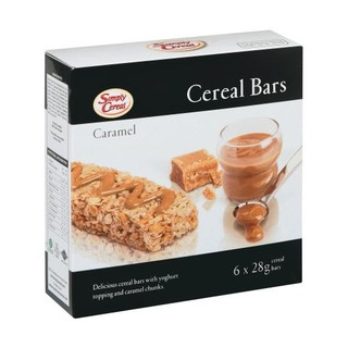 Simply Cereal Caramel Bar 6ea
