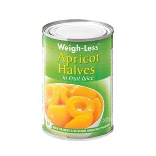 Weigh-less Apricot Halves 400g