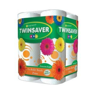 Twinsaver Terracotta Roller Towel 4ea