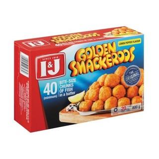 I&J Lemon And Pepper Golden Smackeroos 800g