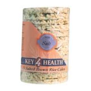 Key 4 Health Salted Brown Rice Cakes 13e a
