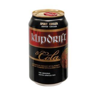 Klipdrift & Cola Can 330 ml