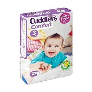 Cuddlers Comfort Size 3 70ea